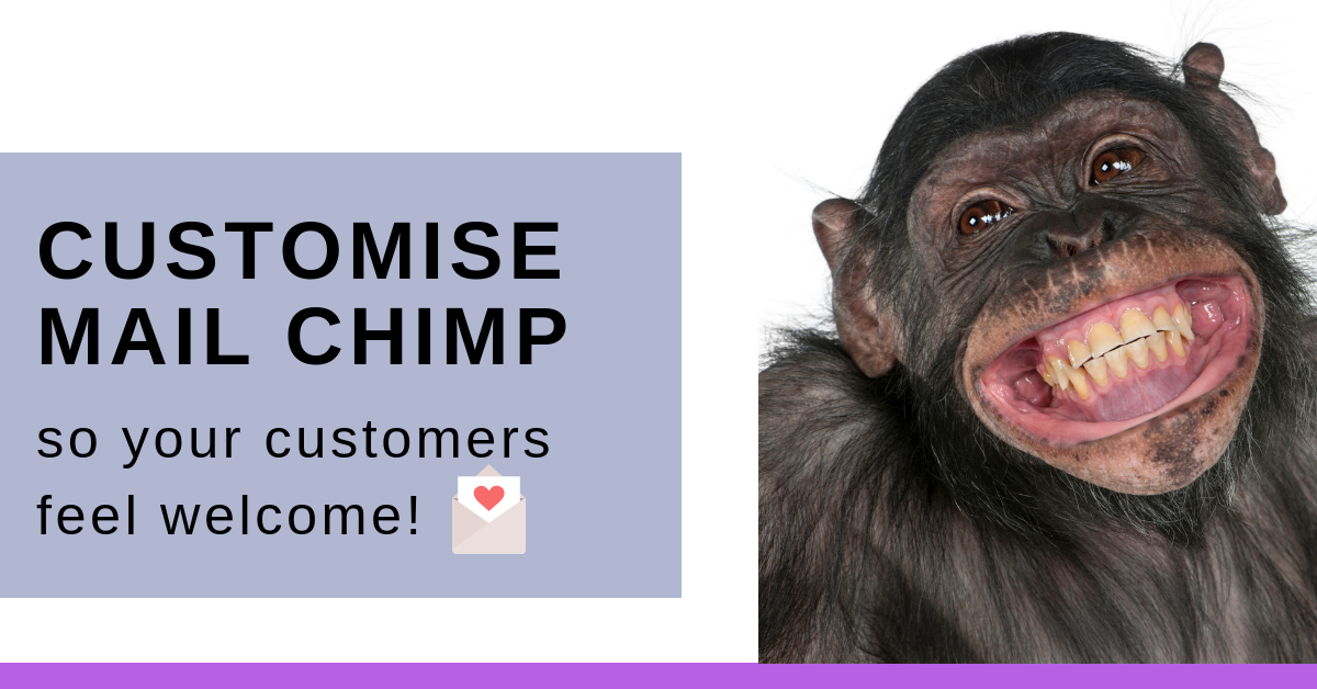 How to Customise MailChimp Sign Up Forms