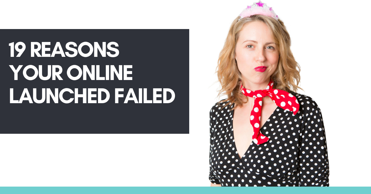 19 Reasons Why Your Program Launch Failed