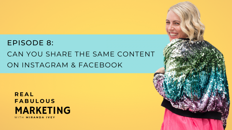 Can You Share the Same Content On Instagram & Facebook